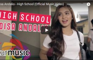 Loisa Andalio - High School