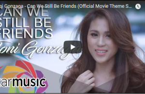 Toni Gonzaga - Can We Still Be Friends