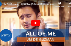 JM De Guzman - All Of Me