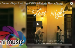 Last Night OST - Sa'yo