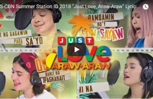 ABS-CBN Summer Station ID 2018 - Just Love, Araw-Araw