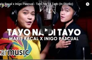 Maris Racal and Inigo Pascual - Tayo Na 'Di Tayo