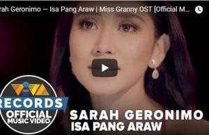 Sarah Geronimo - Isa Pang Araw
