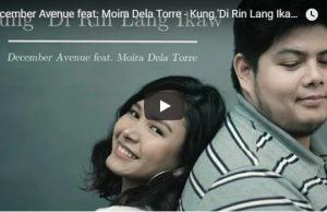 December Avenue feat. Moira Dela Torre - Kung Di Rin Lang Ikaw