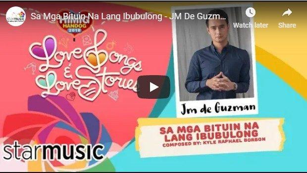 JM De Guzman - Sa Mga Bituin Na Lang Ibubulong