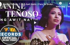 Janine Teñoso - Ang Awit Natin