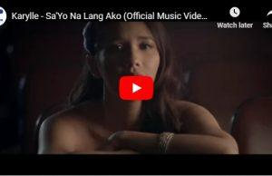 Karylle - Sa'Yo Na Lang Ako