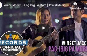 Winset Jacot - Pag-Ibig Pa More