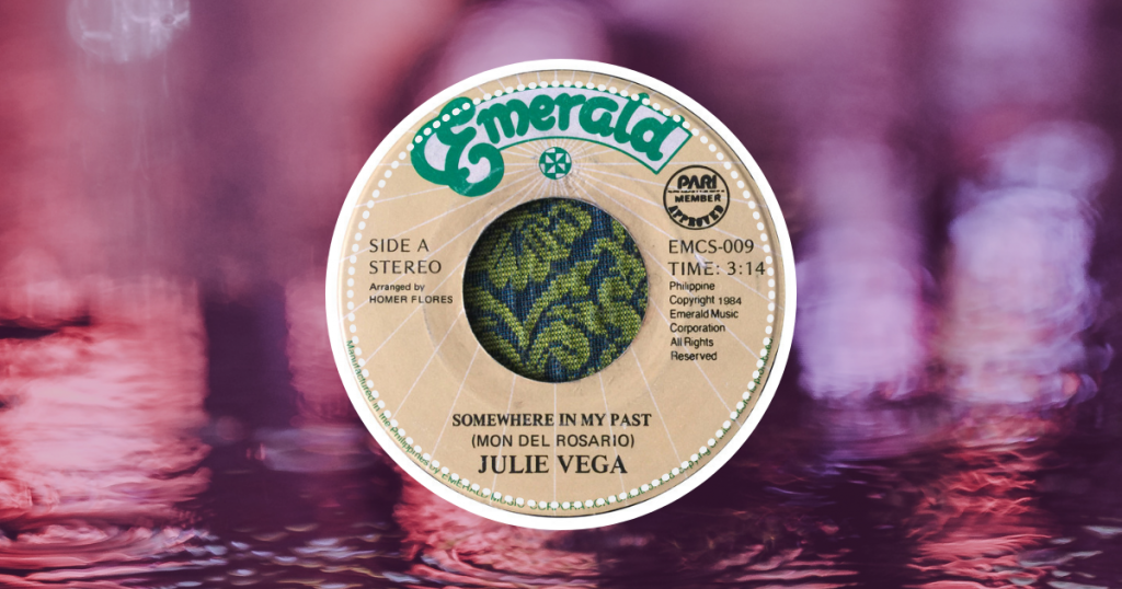 Julie Vega - Somewhere In My Past Lyrics