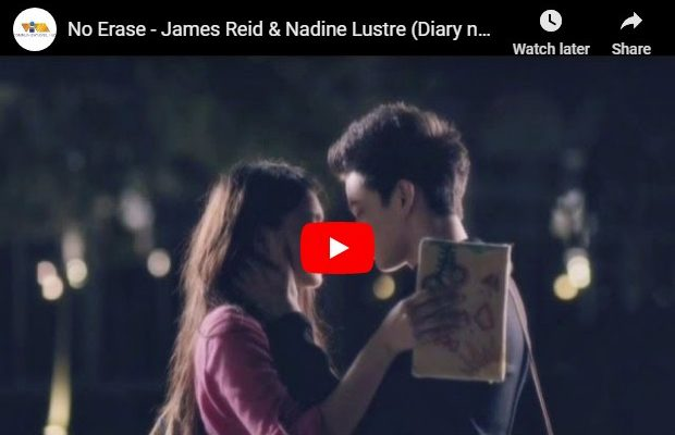 James Reid & Nadine Lustre - No Erase
