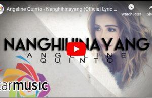 Angeline Quinto - Nanghihinayang