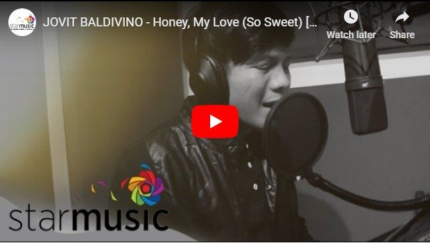 Jovit Baldivino - Honey, My Love (So Sweet)