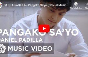 Daniel Padilla - Pangako Sa'Yo