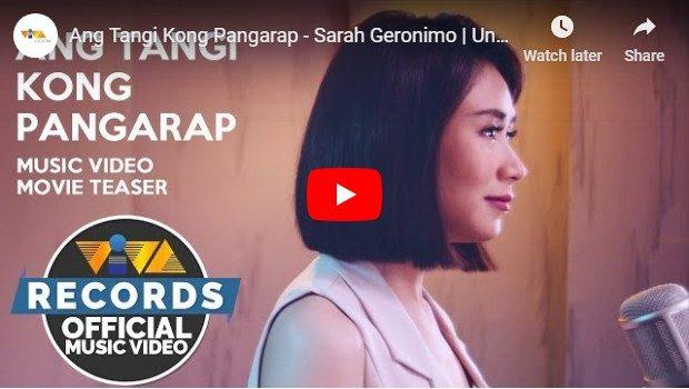 Sarah Geronimo - Ang Tangi Kong Pangarap