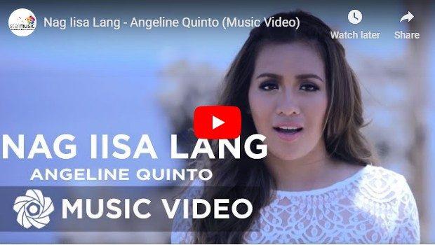 Angeline Quinto - Nag-iisa Lang