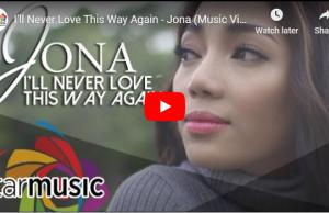 Jona - I'll Never Love This Way Again