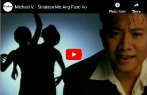 Michael V. - Sinaktan Mo Ang Puso Ko
