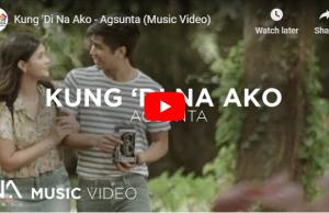 Agsunta - Kung Di Na Ako