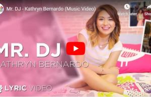Kathryn Bernardo - Mr. DJ