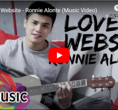Ronnie Alonte - Love at Website