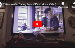 TJ Monterde - Dating Tayo