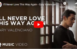 Gary Valenciano - I'll Never Love This Way Again