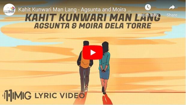 Agsunta & Moira Dela Torre - Kahit Kunwari Man Lang