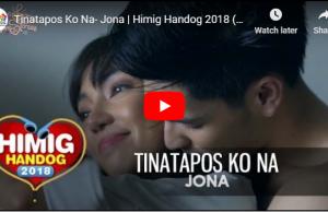Jona - Tinatapos Ko Na