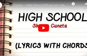 Sharon Cuneta - High School